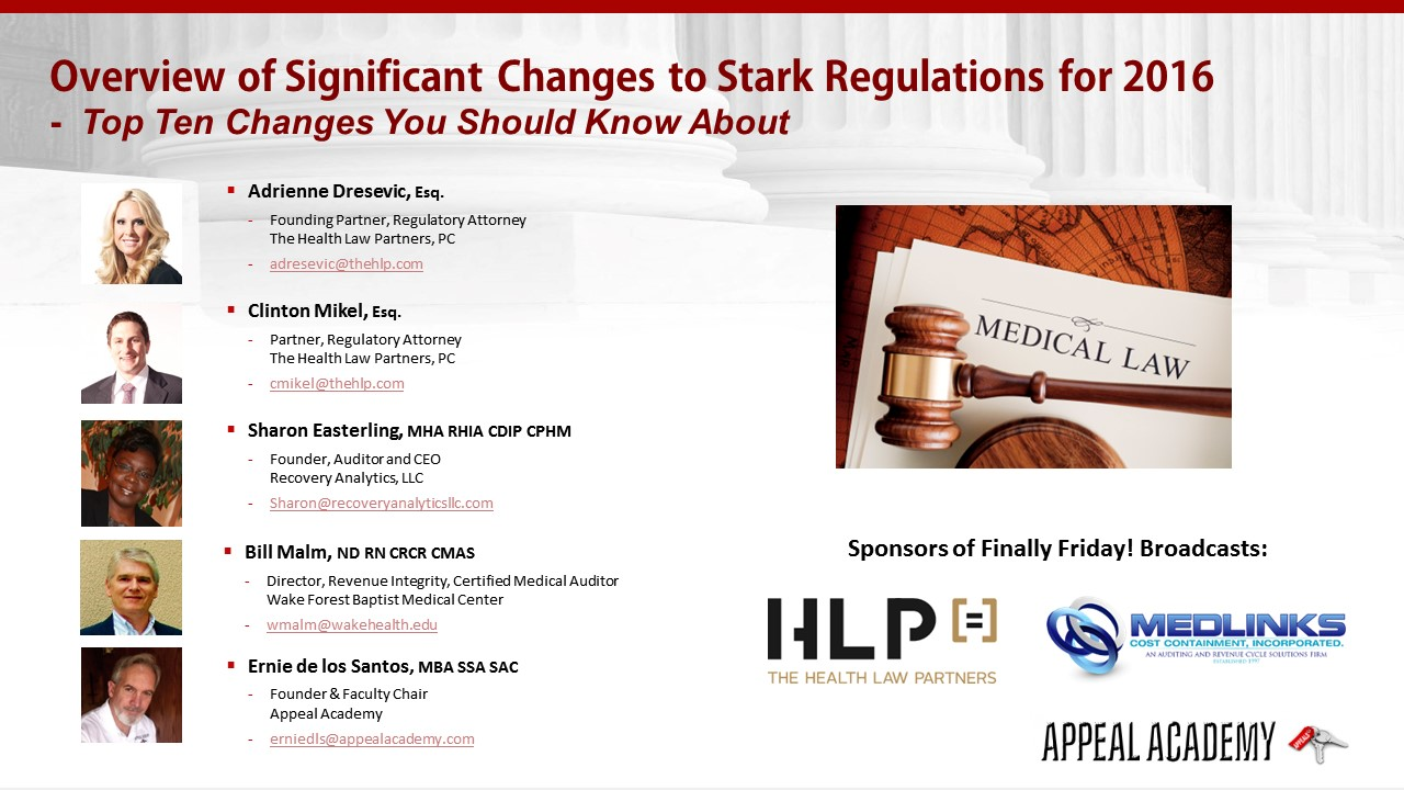 Finally friday changes in 2016 stark law appeal academy replay of this weeks show xflitez Gallery